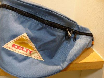 画像1: KELTY ( ケルティ ) - 70's VINTAGE Line Fanny  ウエストバッグ