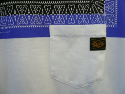 "画像1: UNRIVALED (  アンライバルド ) - UNRIVALED 2137""BANDANA T"" BLUE"