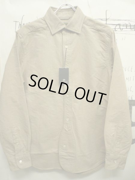 画像1: ☆SALE セール☆40%OFF! NIGEL CABOURN ( ナイジェル・ケーボン ) - ☆SALE セール☆40%OFF! NIGEL CABOURN BRITISH OFFICERS SHIRT    (1)