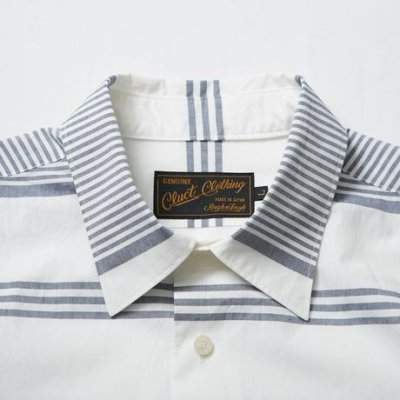 画像1: CLUCT ( クラクト ) -  S/S BORDER STRIPE SHIRTS  #02727