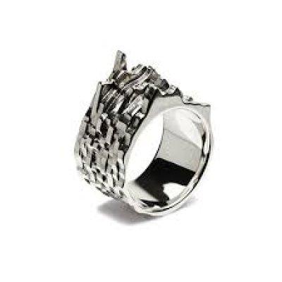 画像1: JAM HOME MADE ( ジャムホームメイド) - 3D XZ RING L リング  / 指輪