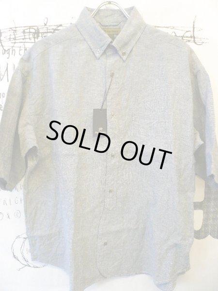 画像1: NIGEL CABOURN  ( ナイジェル・ケーボン ) - Nigel Cabourn  - ワイドシャツ S/S リネンオックス  WIDE SHIRTS S/S LINEN OX   (1)